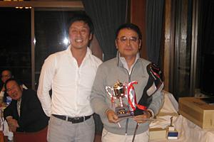 第2回L&Sゴルフアカデミーコンペ 優勝者